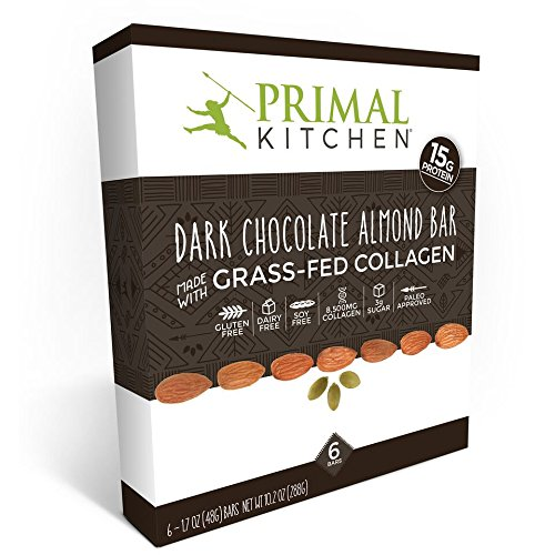Primal Kitchen Dark Chocolate Almond Bars  Pack